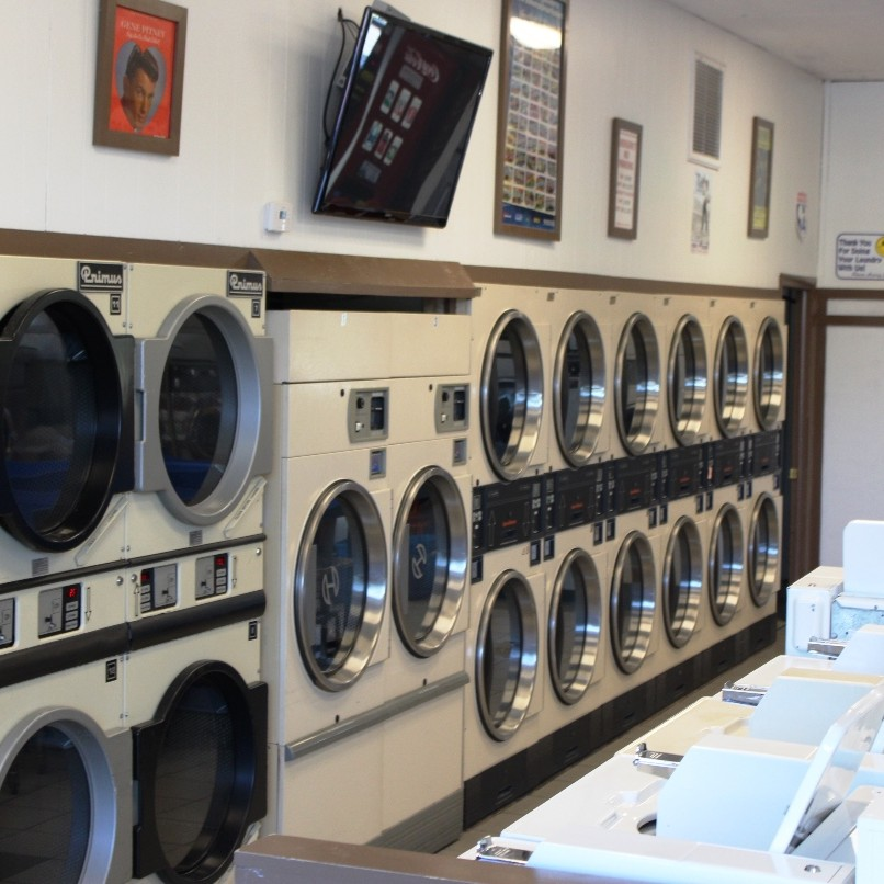Vernon Laundromat - Dryers